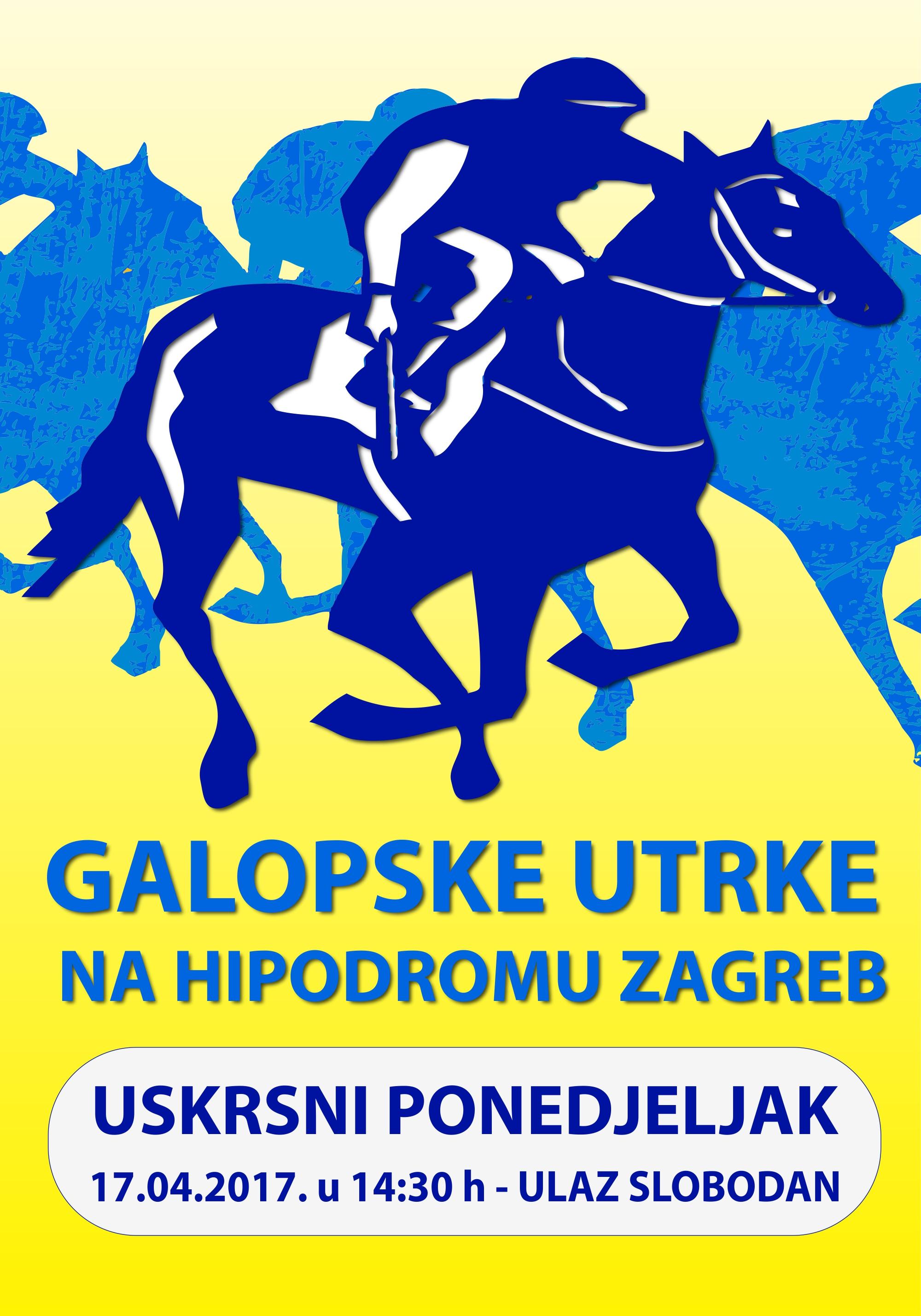 plakat-tradicionale-uskrsne-galopske-utrke-zagreb-17-04-2017